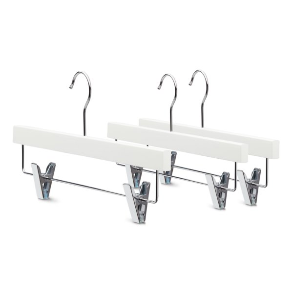 Classic white broekhanger bottom clothes hanger Yourhanger
